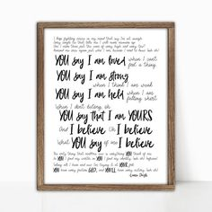 You Say By Lauren Daigle One In Christ Christian