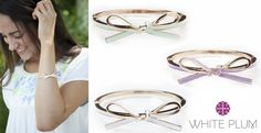 Enamel Bow Bracelet! 3 Color Options! | Jane