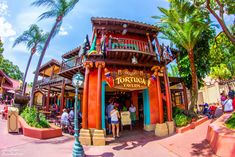 Tortuga Tavern in Adventureland, one of my favorite places to eat in the Magic Kingdom.