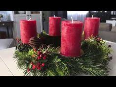 Wie bindet man einen Adventkranz selber? - YouTube