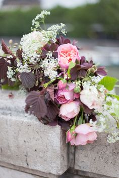 Flower school in Paris Florasion/ flower class bouquet