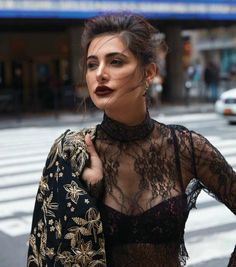 Nargis Fakhri poses for Grazia