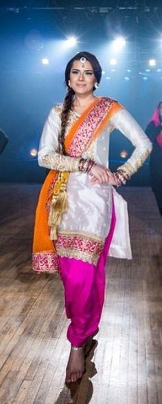 Punjabi salwar suit!