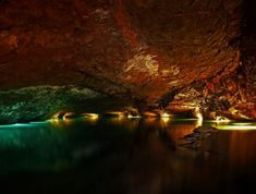 The Lost Sea in Sweetwater, TN. Listed by the Guinness Book of World Records as America's largest underground lake. These caverns were used sincethe days of the Cherokee Indians with pottery, arrowheads, weapons, & jewelry being found testifying to the use by the Cherokees. An experience you won't forget.