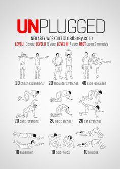 Unplugged Workout