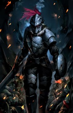 Goblin Slayer by phamoz on DeviantArt Dark Souls, Anime Rock, Fantasy Characters, Anime Characters, Goblin Slayer Meme, By Any Means Necessary, Fanarts Anime, Slayer Anime, Animes Wallpapers