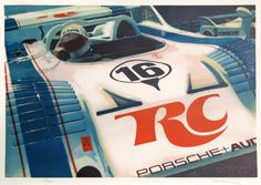 Porsche Limited Edition by Ron Kleemann at AllPosters.com