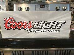 RARE!!! MTH RAILKING O scale Coors Light Silver Bullet Train Complete Set #trains Coors Light, Silver Bullet, Geek Gear, Car Set, Train Set