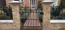 Victorian Gate, Wrought Iron Gate, Forged Gate, Blacksmith Made To Order In UK
