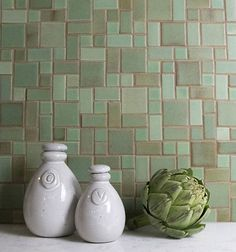 Invoking the art of simplicity, these gorgeous Craftsman tiles are ideal for any modern home. Shop our contemporary ceramic tiles at Mercury Mosaics. Craftsman Style Kitchens, Craftsman Tile, Craftsman Bathroom, Bungalow Kitchen, Craftsman Homes, Kitchen Backsplash Photos, Backsplash Ideas, Kitchen Wallpaper, Tile Ideas