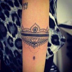 Bildresultat för tattoo bracelete
