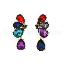 NWT 'Melbourne City' Statement Fashion Earrings, Smith And Kona, Sparkly, Classy