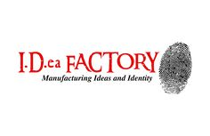 I.D.ea Factory Logo created by D. Brian Ward for I.D.ea Factory at www.ideas4identity.com