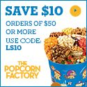 Check out  Popcorn Factory at the Intl Super Cyber mall at Applaud Women at http://www.applaudwomen.com/IntlSuperCyberMallatApplaudWomen.html or keep up to date with daily sales on our FB fanpage at https://www.facebook.com/IntlSuperCyberMallatApplaudWomen