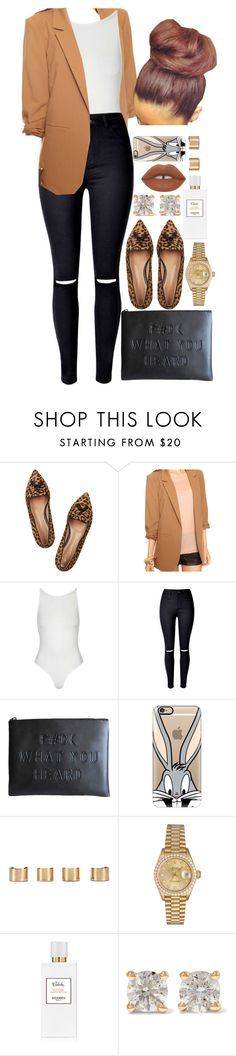 """""""23 January, 2016"""" by jamilah-rochon ❤ liked on Polyvore featuring Gianvito Rossi, Forever 21, Topshop, Casetify, Maison Margiela, Rolex, Hermès, Anita Ko and Lime Crime"""