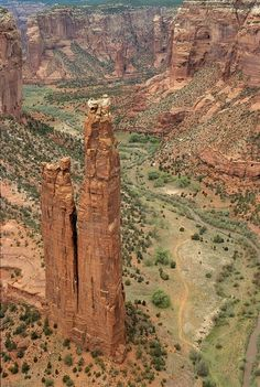 Spider Rock, Canyon de Chelley, AZ