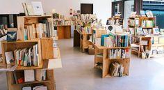 くらもと古本市vol.7 | about Bookstore Design, Stationary Store, Space Images, Free Market, Craft Shop, Home Office, Shelves, Bookstores, Interior Design