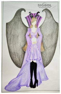 Maleficent and the wings...
