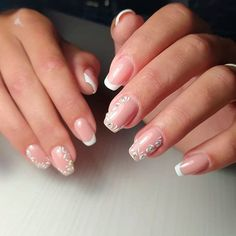 Classic French Short Coffin Nails ❤ 30+ Outstanding Short Coffin Nails Design Ideas For All Tastes ❤ See more ideas on our blog!! #naildesignsjournal #nails #nailart #naildesigns #coffins #coffinnails #shortcoffinnails #coffinnailshapes