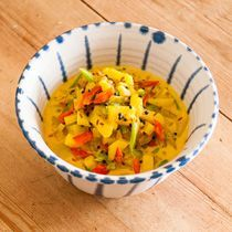 | Ayurvedic Recipes | Tridoshic Vegetable Curry