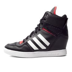 cheap for discount 11094 df00d adidas Originals M Attitude Up Womens B35323 Black Red Sneakers Shoes
