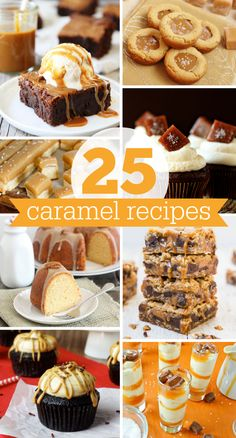 25 Caramel Recipes for #NationalCaramelDay