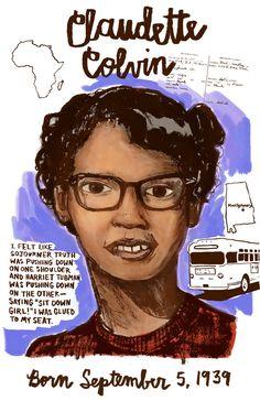 Claudette colvin on pinterest civil rights civil rights movement