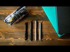 Meet || Ti Pocket Pro : The Auto Adjusting EDC Pen - Ti Pocket Pro - http://ift.tt/2oDBwAR