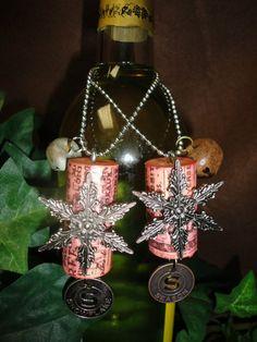 Wine Bottle Necklaces @ Altered Cork (on Facebook)