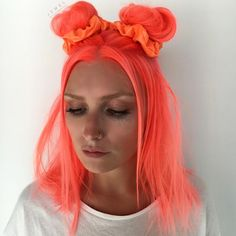 """23.8k Likes, 435 Comments - Pulp Riot Hair Color (@pulpriothair) on Instagram: """"#NeonElectric... Neon Peach created by @thejesjewel from @butterflyloftsalon... Pulp Riot is the…"""""""