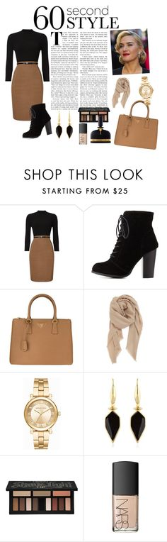 """Bez naslova #20"" by cutepsycho666 ❤ liked on Polyvore featuring Phase Eight, Charlotte Russe, Prada, BP., Michael Kors, Isabel Marant, Kat Von D, NARS Cosmetics, Tom Ford and jobinterview"