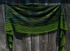 Ravelry: Project Gallery for Springwater Shawl pattern by Mindy Wilkes $6.00