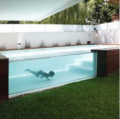 Beautiful Pool for home in Argentina - Andres Remy Architects