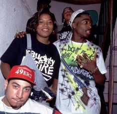Queen Latifa and Tupac