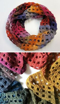 [Free Crochet Pattern] Simple But Beautiful Crochet Scarf Pattern