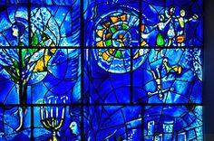 Marc Chagall's Stained Glass -...