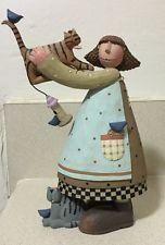 Williraye Studio Girl with Cats WW7730 My Best Friends Figurine 2007 Mint