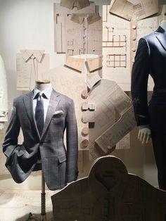 """Bergdorf Goodmans Mens Store,""""The Handy Man's Work Shirt"""", pinned by Ton van der Veer"""