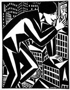 The Picture Alternate Title: Das Bild Descriptive: (frontispiece) Frans Masereel (Belgium, Blankenberghe, 1889-1972) Germany, 1921