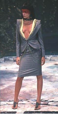 1998-99 - Alexander McQueen for Givenchy Couture show  - Esther Canadas