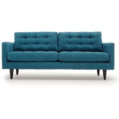 Reclining Sofa Thrive Jefferson Leather Loveseat liked on Polyvore featuring home furniture
