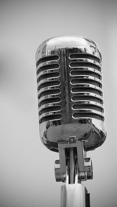 Classic Polished Microphone