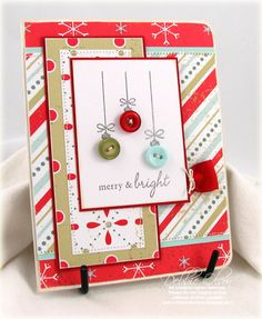 Merry and Bright Xmas Card