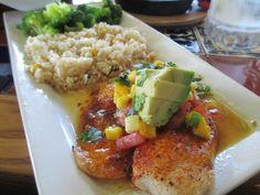 Mango-Chile Tilapia at Chili's. #ClwbTasteFest #ClwbRestaurantWeek