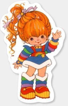 90s Childhood, Childhood Memories, Theme Tattoo, Dibujos Cute, Rainbow Brite, 80s Kids, Old Cartoons, Classic Cartoons, Girl Cartoon
