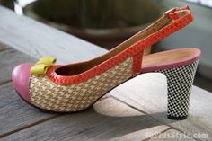 colorful and textured Chie Mihara shoes | 40PlusStyle.com