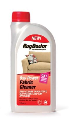 Rug Doctor Oxy Power Fabric Cleaner with Anti Foam, 1 Litre - http://domesticcleaningsupplies.co.uk/product/rug-doctor-oxy-power-fabric-cleaner-with-anti-foam-1-litre/