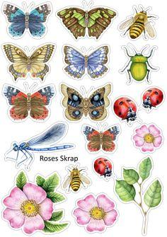 Высечки цветочки это замечательно, а в дополнение к ним ловите бабочек да пчелок<br>Выставление на прочих ресурсах - через репост.