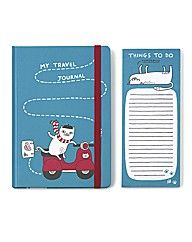 Pickle Parade notebook set