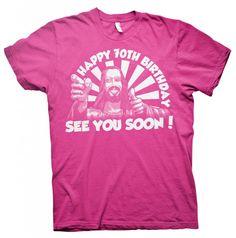 Happy 70th Birthday, See You Soon - Buddy Jesus - Funny Birthday T-shirt